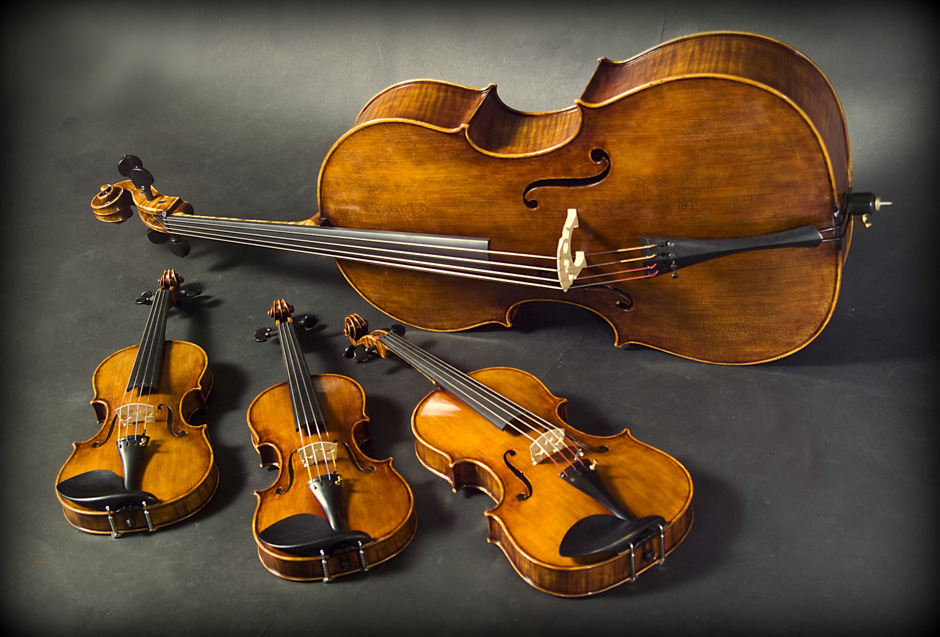 Violins from Cremonanfis Art Studio