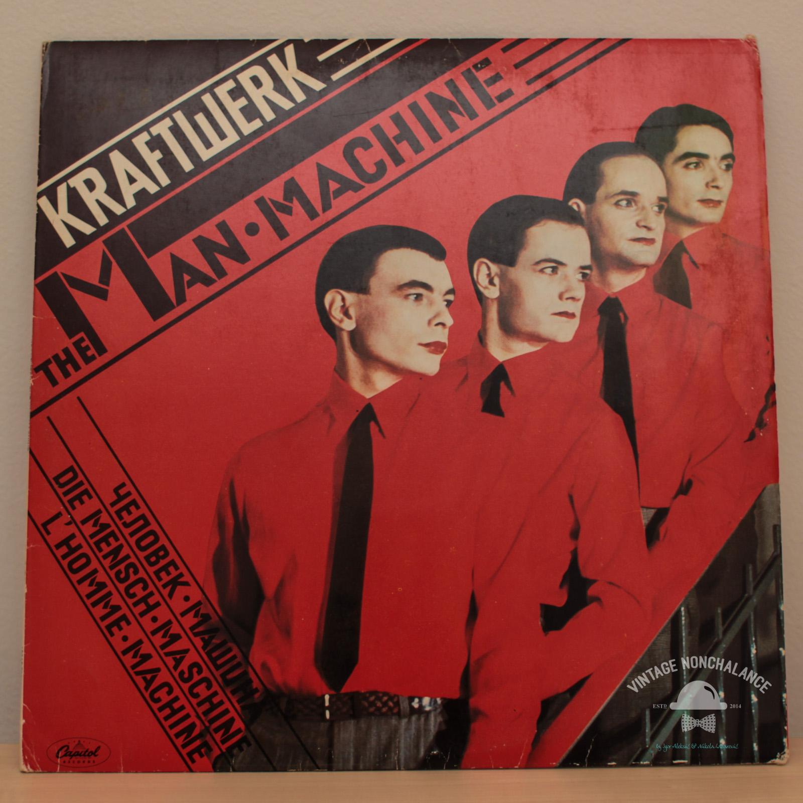 Kraftwerk The Man Machine