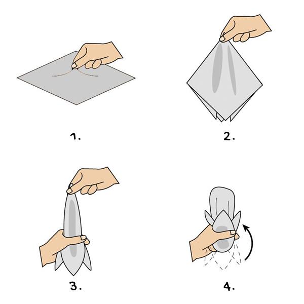 Puff fold - Vintage Nonchalance